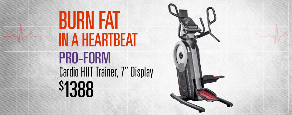 Fitness Depot Heart Month Pro-Form Carousel