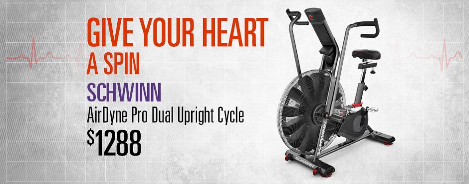 Fitness Depot Heart Month Schwinn Carousel